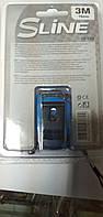 Рулетка S-line с фиксатором 3 м x 16 мм,возможна калибровка в УкрЦСМ, фото 1