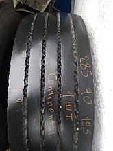Грузовая шина б/у 285/70 R19.5 Continental, одна