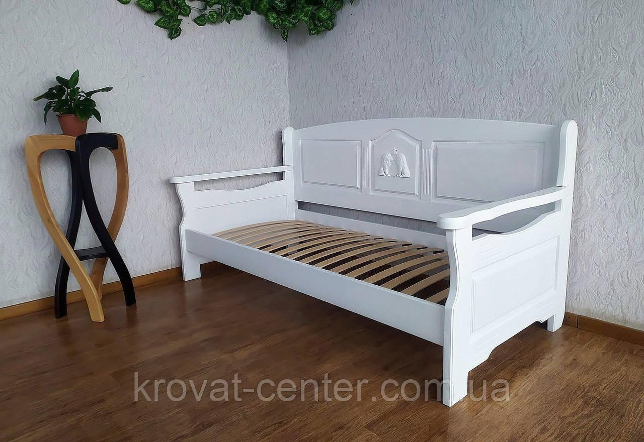 """Белый деревянный диван от производителя """"Орфей Премиум"""""""
