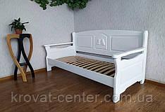 """Білий диван з масиву дерева від виробника """"Орфей Преміум"""""""