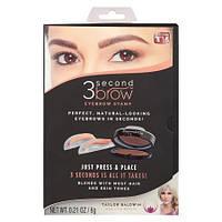 Штампы для бровей 3 Second Brow eyebrow stamp