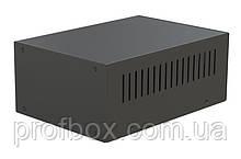 Корпус металевий MB-45 (Ш155 Г220 В90) чорний, RAL9005(Black textured)