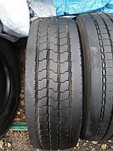 Грузовая шина б/у 265/70 R19.5 Goodyear, РУЛЬ, одна, 11 мм