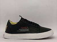 Кеды мужские в стиле Vans Nasa Shuttle 896-1 черные