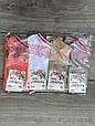 Короткие с цветочной паутиной женские носки хлопок Kardesler 35-40 12 шт в уп микс 4х цветов, фото 2