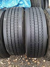 Грузовые шины б/у 265/70 R19.5 Michelin, РУЛЬ, пара, 6 мм