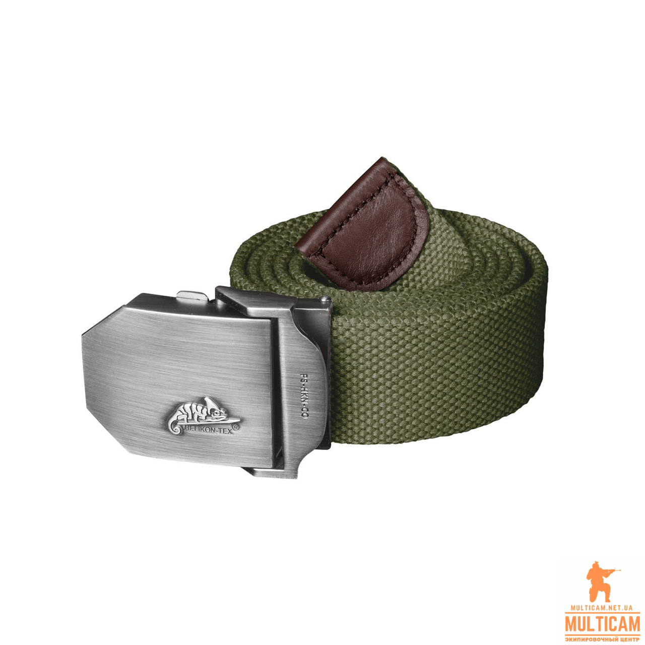 Ремень Helikon-Tex® Logo Belt Cotton - Olive Green