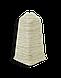 Плинтус Dekor Plast LL013 Туя Светлая пластиковый,напольный двухсостовной с кабель-каналом, фото 3