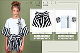 Котоновые летние шорты для девочки тм Моне р-ры 146,152, фото 4