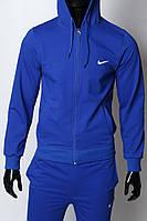Кофта на молнии трикотажная Nike 754296_4 синяя