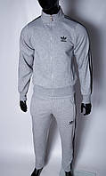 Кофта утепленная на молнии трикотажная мужская Adidas 5296 в стиле бренда S размер