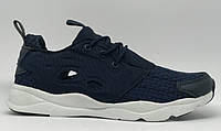 Кроссовки Rbk 0875_1 синие в стиле бренда
