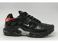 Кроссовки мужские Nike Air Max TN dt-68-3 черные в стиле бренда aaA