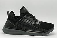 Кроссовки мужские PM 16082 черные в стиле бренда