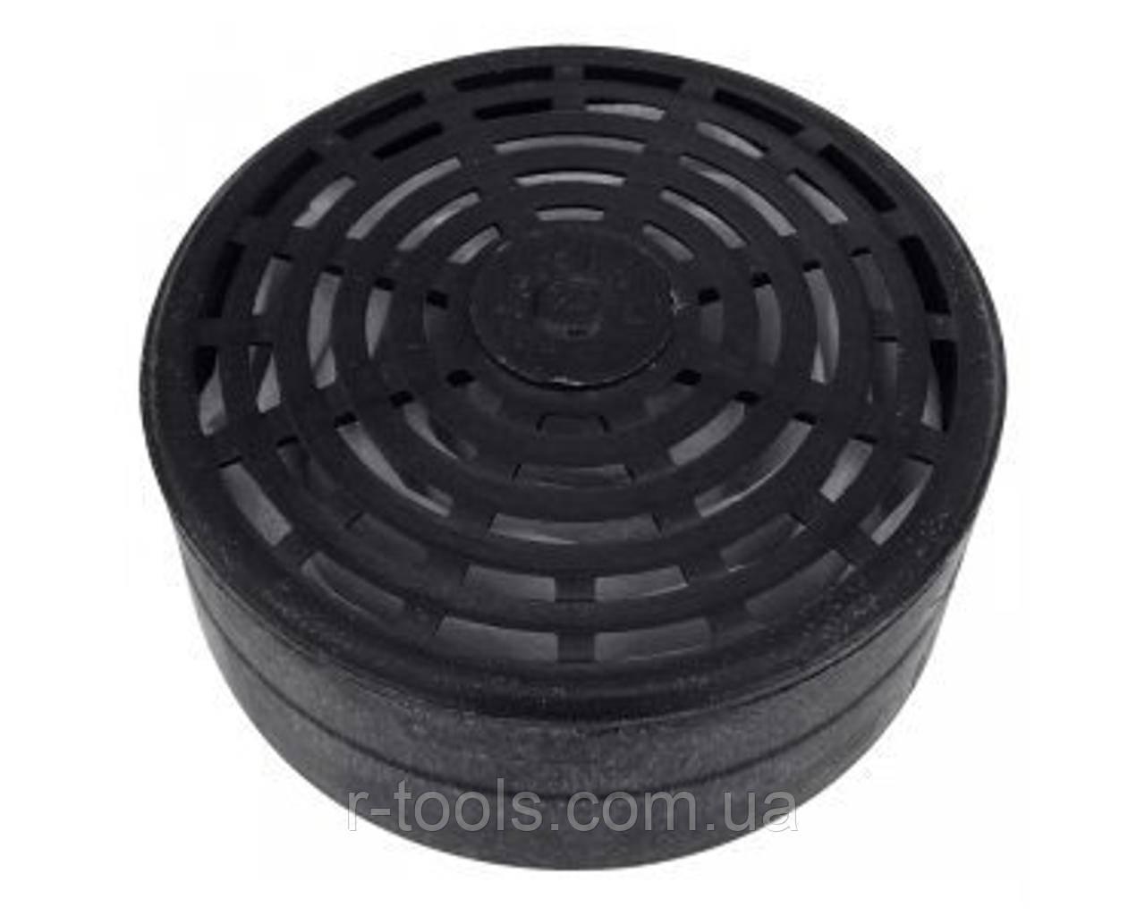 Фильтр сменный для респиратора РУ-60М марка А1В1Е1Р2 ФП пластиковый цвет чёрный DR-0012
