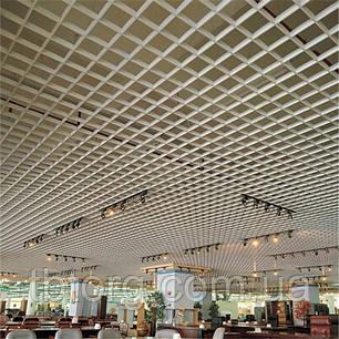 Потолок Грильято 100х100, фото 2