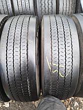 Грузовые шины б/у 265/70 R19.5 Continental, РУЛЬ, пара, 10 мм