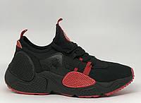 Кроссовки мужские в стиле Nike Huarache E.D.G.E. 244-5 черные