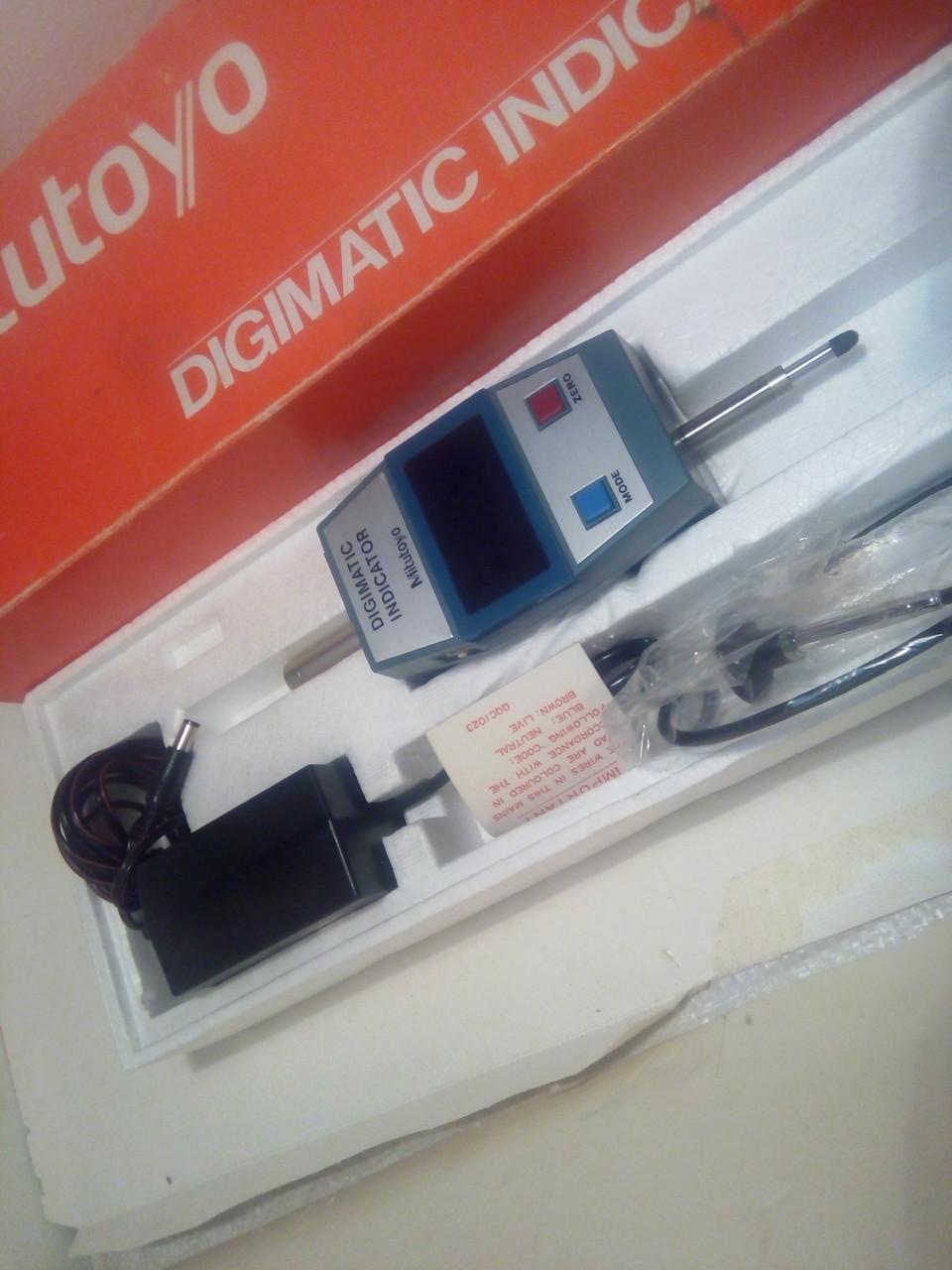Индикатор цифровой 0,001-10 мм  (543-411-Е) возможна калибровка  УкрЦСМ