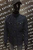 Куртка демисезонная GS 133510573_1 синяя M размер