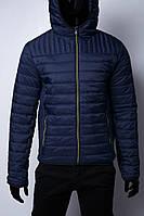 Куртка мужская демисезонная GS 1532 синяя в стиле бренда