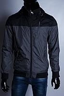 Куртка мужская демисезонная GS 175007 черная в стиле бренда