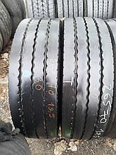 Грузовые шины б/у 265/70 R19.5 Bridgestone, ПРИЦЕП, пара, 12 мм