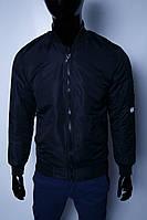 Куртка демисезонная бомбер FR 1590 синий 44 размер