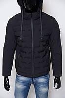 Куртка мужская зимняя Mic С S 813 Soft Shell черная