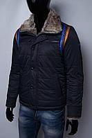 Куртка мужская зимняя на меху Mondo 4724 синяя