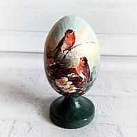 Яйцо пасхальное интерьерное Пасхальные подарки и украшения Ручная работа, фото 1