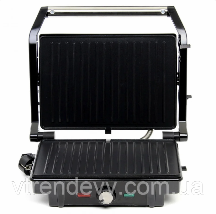 Гриль прижимной c терморегулятором Rainberg RB-5403 2500W