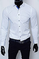 Рубашка мужская Bazolo 1445 белая