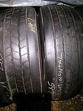 Грузовые шины б/у 285/70 R19.5 Continental, РУЛЬ, пара, 9 мм