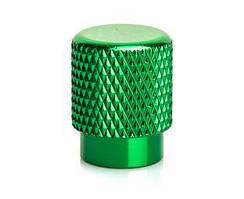 Колпачок на ниппель OnRide (AV / SV - Auto / Schrader) зеленый, уп 2 шт