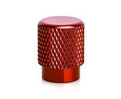 Колпачок на ниппель OnRide (AV / SV - Auto / Schrader) красный, уп 2 шт
