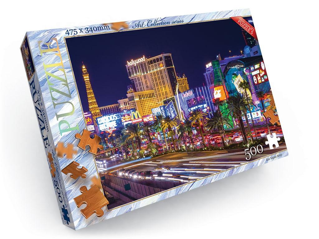 Пазли 500 елементів 11 серія Danko Toys (С500-11-07)