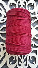 Полиэфирный шнур без сердечника 3мм №15 Бордовый