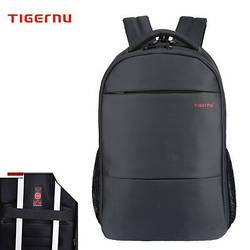Рюкзак Tigernu для ноутбуков черный с красным логотипом кодовым замком модель Т-В3032С