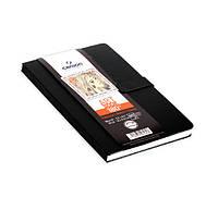 """Блокнот для графики 96г черн.обл.книжн.форм.магнит.застежка """"ART BOOK 180*"""" 80л 14х21,6см"""
