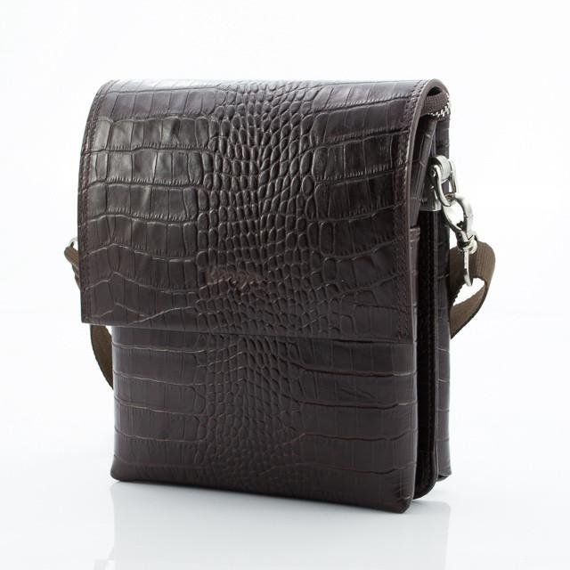 Коричневая мужская сумка Karya 0785-57 (Турция)