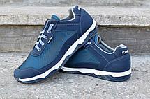 Кроссовки мужские летние синие комфорт, фото 2