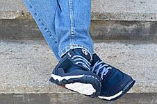 Кроссовки мужские летние синие комфорт, фото 3