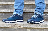 Кросівки чоловічі літні сині комфорт 40 розмір