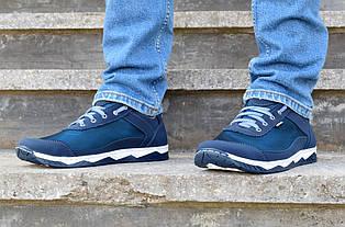 Кросівки чоловічі літні сині комфорт