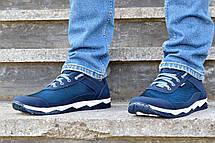 Кросівки чоловічі літні сині комфорт, фото 3