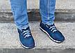 Кросівки чоловічі літні сині комфорт, фото 5