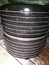 Грузовые шины б/у 435/50 R19.5 Dunlop, ПРИЦЕП, пара, 10 мм