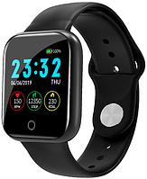 Смарт часы Smart Watchi5 | IP67 | Тонометр | Черный | Гарантия, фото 1