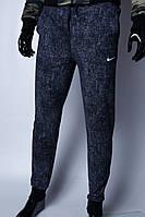 Спортивные штаны мужские Nike 9913 синий меланж в стиле бренда